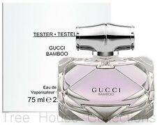 Treehousecollections: Gucci Bamboo EDP Tester Perfume Spray For Women 75ml