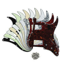 NEW US FD Strat Electric Guitar Pickguard HH 11-Hole Scratch Plate with Screws