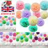 40 Pack Mixed Tissue Paper Pompom Pom Poms Hanging Garland Wedding Party Decor