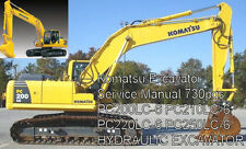 Komatsu Excavator PC200LC-6 PC210LC-6 PC220LC-6 PC250LC-6 Service and Ops Manual