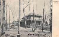 B88/ Osakis Minnesota Mn Postcard c1910 Hotel Idlewilde Building