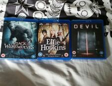 Dvd Blu Ray Bundle Attack of the Werewolves Elfie Hopkins Devil 2 Sealed BN