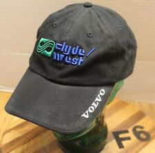 CLYDE/WEST VOLVO OREGON WASHINGTON HAT BLACK ADJUSTABLE EMBROIDERED VGC F6
