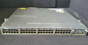 Cisco Anatel TNY-WS3750X-3560X (A) 48-Port Network