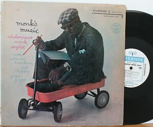 "Thelonious Monk LP ""Monk's Music"" ~ Riverside 12-242 ~ DG Mono White Label"