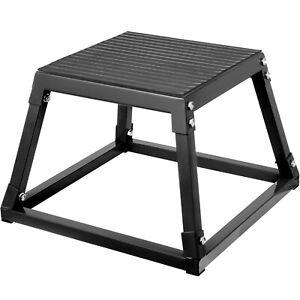 "Fitness 12"" Plyometric Box HD Step Plyo Box Jump Exercise fit Training Power Gym"
