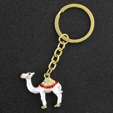 1Pcs Keyring Rhinestone Crystal Charm Pendant Key Bag Chain  X'mas Gift Camel
