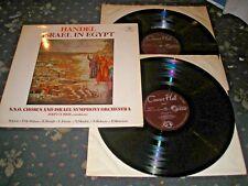 Handel Israel en Egipto John Currie Doble Lp Concert Hall SMS 2798 Casi Nuevo