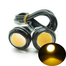 2 x Yellow DC12V 9W Eagle Eye LED Daytime Running DRL Backup Light Car Auto Lamp