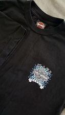 HARLEY DAVIDSON Men's Short Sleeve Black T Shirt Size Large L Tee Maui Hawaii