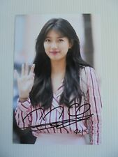 Suzy Bae Miss A 4x6 Photo Korean Actress KPOP autograph signed USA Seller SALE 3