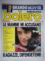 Bolero 1544 Drupi Brando Patty Pravo Telly Savalas Porzio Benigni Quinn Paganini