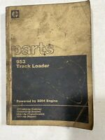 CAT 953 Track Loader Parts Manual