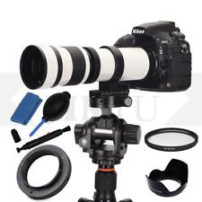 JINTU 420-800mm Telephoto Lens  For Canon EOS 1200D 1300D 450D 550D 750D 7D 6DII
