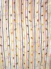 Tela Decoración 0,5 m flores blanco 9,90€/bordado Venta por metros de cortinas