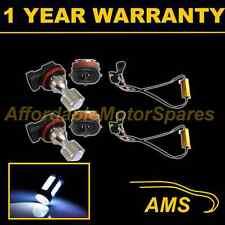 2x H11 WHITE 4 CREE LED FENDINEBBIA Lampada Spot Lampadine Auto KIT XENON ff503801