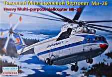 Eastern Express 14503 Soviet  Heavy Helicopter Mi-26 AEROFLOT  model kit 1:144