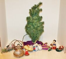 Vtg Marie Osmond Dolls Twelve Days Of Christmas Set of 12 w/Tree,Box,Coa's -Euc