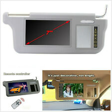 "7"" 2 Channel Sunvisor Screen LCD Monitor For For DVD/VCD/GPS/TV Input Right Side"