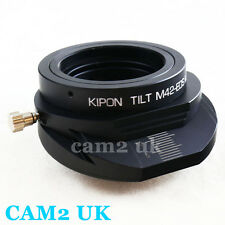 Kipon Tilt adapter for M42 Carl Zeiss Zenit lens to Canon EOS M M2 EF-M mount