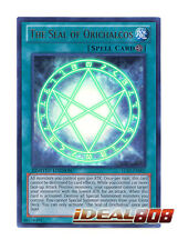 YUGIOH x 1 The Seal of Orichalcos - LC03-EN001 - Ultra Rare - Limited Edition Ne