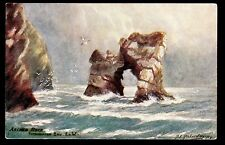 Tuck Tennyson Country signed Richardson Arched Rock landscape I.O.W.Uk postcard