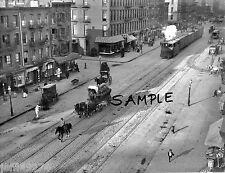 NYC CENTRAL RAILROAD 11th AV & 48th ST w POLICEMAN 1911 Free Ship!