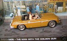 MGB THE MAN WITH THE GOLDEN GUN JAMES BOND 007 1/43 UH