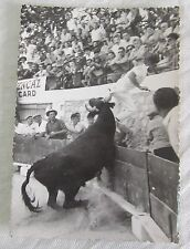 Carte postale CPSM 84 coup de barrière de Chin-Chein razeteur volle voyagée 1959
