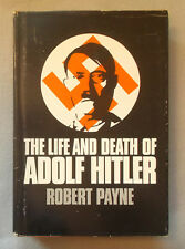 THE LIFE AND DEATH OF ADOLF HITLER by Robert Payne HARDCOVER Dust Jacket