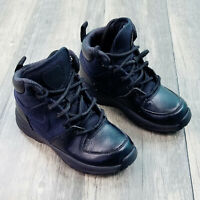 Nike Little Kids Manoa Leather Boots Size 12C Black