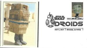 First Day Cover SC#5580 Star Wars Droids Gonk May 4 2021