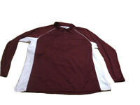 Russell 2XL Athletic Training Fit Active Wear Top Men Pullover Shirt