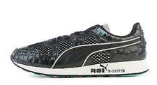 PUMA RS 100 Opulence Lux Sneaker men's size 10 Black Green NEW $85