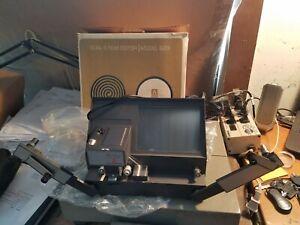 Vintage Atlas Warner Dual 8 Film Editor Model D23 Original Box w/ Manual