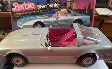 Vintage Mattel Barbie Silver Vette Corvette 1983 in Original Box Missing Parts