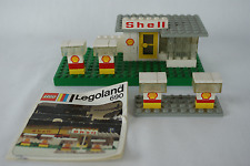 Lego Classic City 690 Shell Station with instructions no box 1974