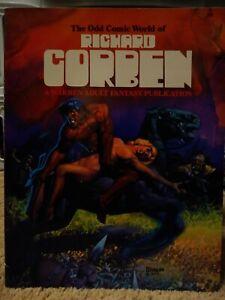 The Odd Comic World of Richard Corben 1977 First Edition Warren Publishing VF/NM