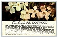 Thomasville, GA Georgia The Legend of the Dogwood Flowers Postcard Posted 1967