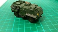 Saxon Riot Control White Metal Built Model Truck Lorry Army Military Toy Vehicle