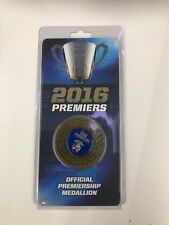 2016 Western Bulldogs Premiership medallion SOLD OUT