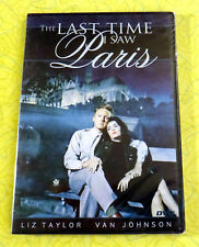 The Last Time I Saw Paris ~ New DVD Movie  Elizabeth Taylor Donna Reed Eva Gabor