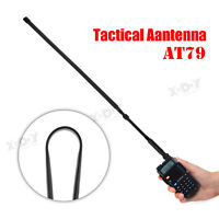 Folding Army Tactical SMA-K 10W Walkie Talkie Antenna for Baofeng UV-9R Plus