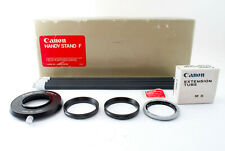 【MINT IN BOX】Canon Handy Stand F w/ Attatchment Ring and Extension Tube #0191284