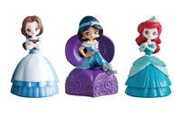 Bandai Disney Princess Capchara Heroine Doll 5 Figure Belle Jasmine set 3 pcs