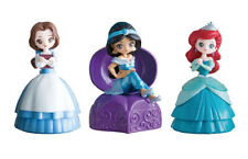 Bandai Disney Princess Capchara Heroine Doll 5 Figure Belle Jasmine set 3 pcs