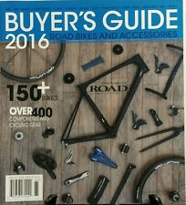Road Bikes And Accessories Buyer's Guide 2016 Tires Wheels Bars FREE SHIPPING sb