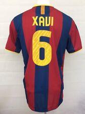 Barcelona Camiseta de fútbol 2010-11 Xavi #6 lejos (excelente) Xl Fútbol Jersey Top
