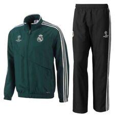 tg L uomo - Tuta rappresentanza verde Real Madrid UCL 2012/13 Adidas tracksuit