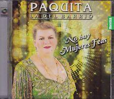 Paquita La del Barrio No hay Mujeres Feas CD New Nuevo Sealed